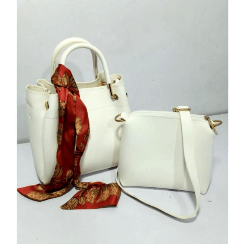 stylish-white-leather-handbagset