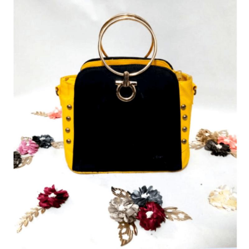 gold-handle-black-n-yellow-leather-handbag-a5048