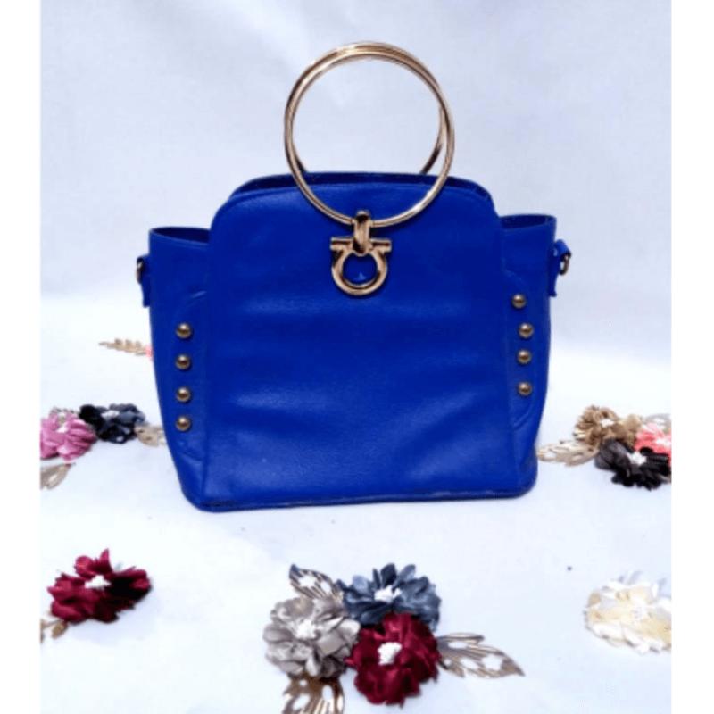 gold-handle-blue-leather-handbag-a5049