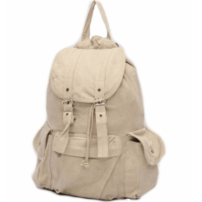 sports-style-off-white-canvas-backpack-u-1781