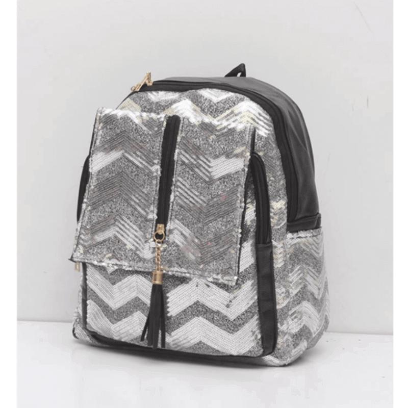 trendy-silver-glittered-backpack-u6036