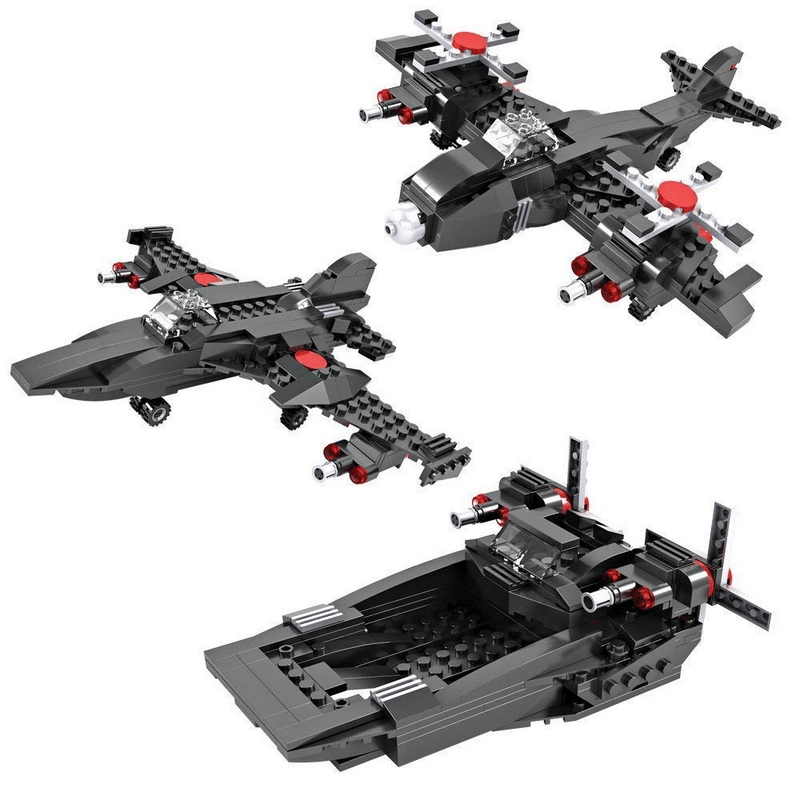 3-in-1-vehicles-aircraft-jet-boat-building-blocks