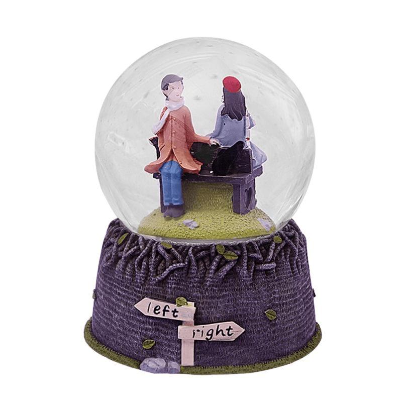 crystal-ball-cute-couple-music-box
