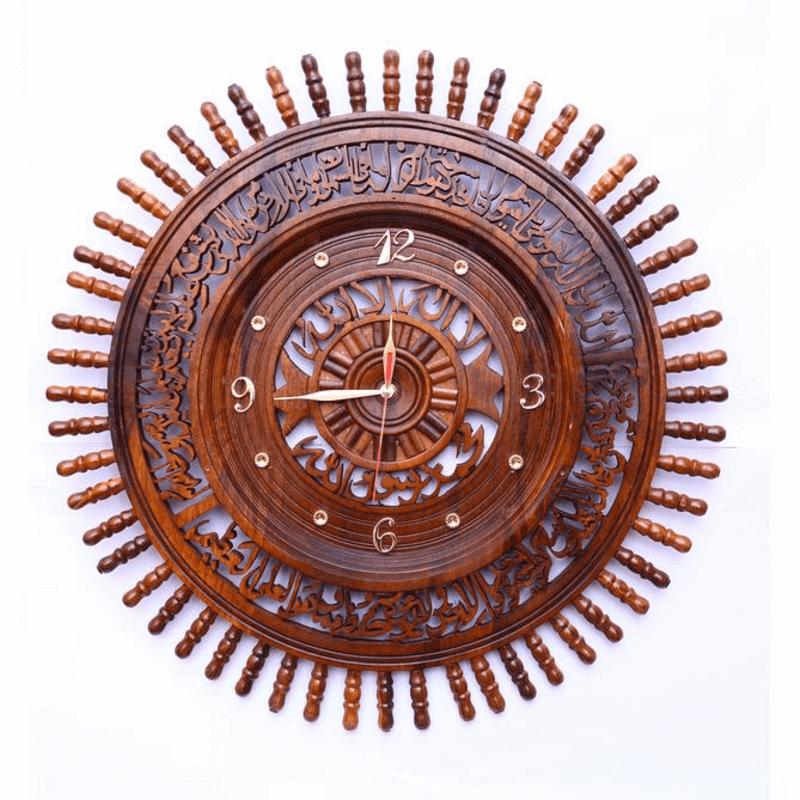 wooden-clock-22-inches-kalma-and-ayatul-kursi