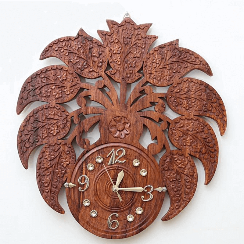 wooden-flower-clock-16-inches