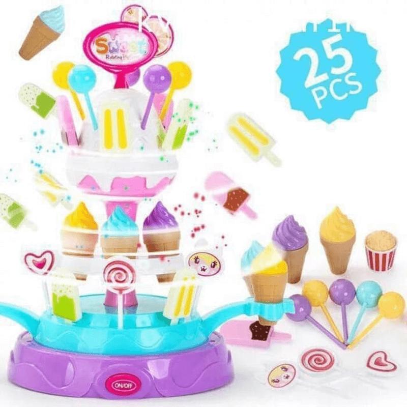 25-pcs-sweet-rotating-platform-pretend-play-toy