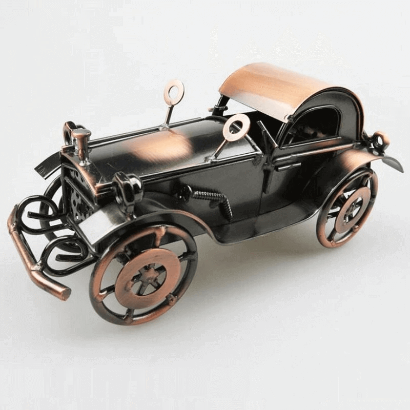 iron-old-bone-shaker-vintage-car-model