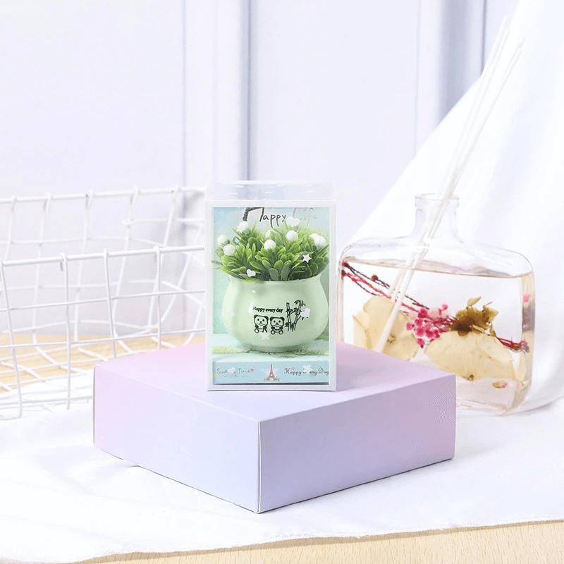 lovely-simulation-green-rose-bonsai-plant