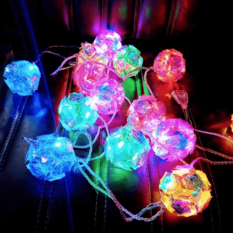 16-pcs-fairy-light-multi-crystal-flower-balls