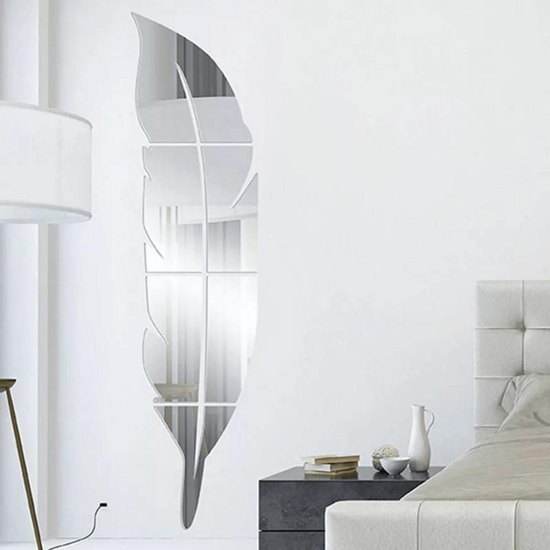 leaf-mirror-wall-stickers