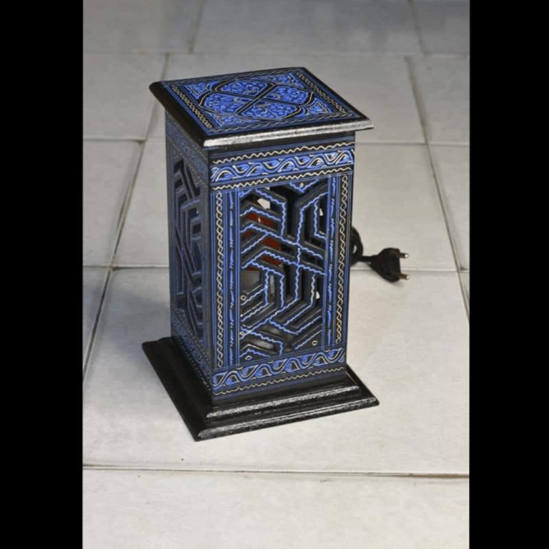 decorative-wooden-rustic-lamp