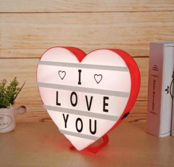 led-heart-message-box