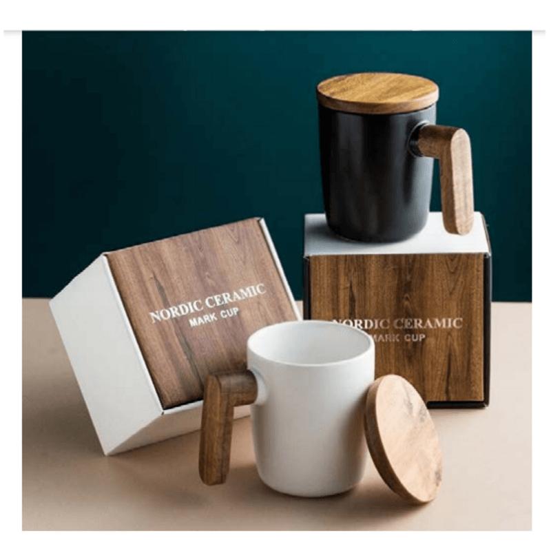 ceramic-coffee-mug-with-wooden-lid-n-handle
