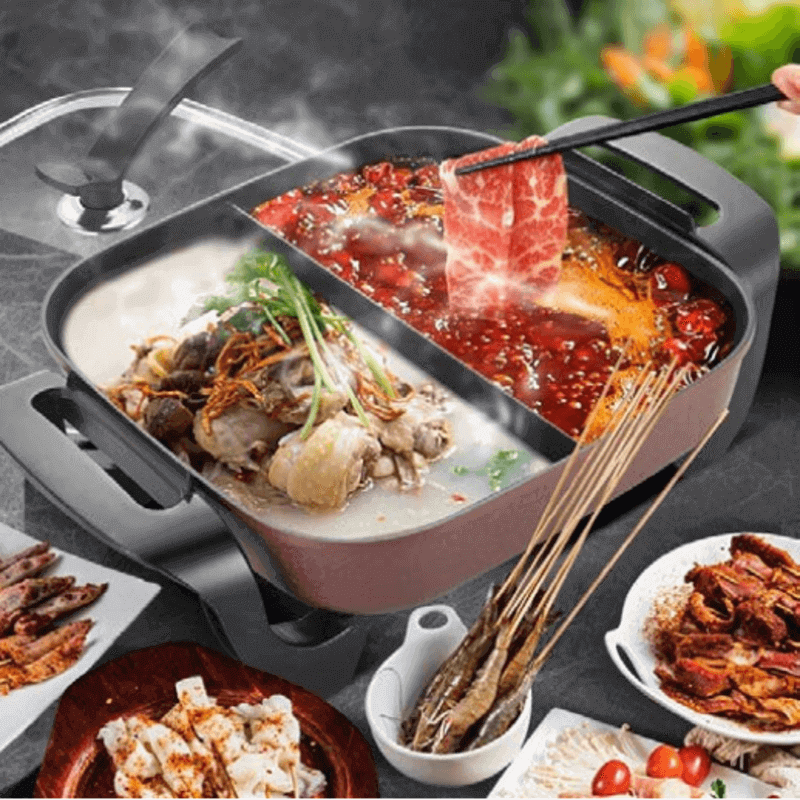 non-stick-electric-skillet-with-2-portion-design