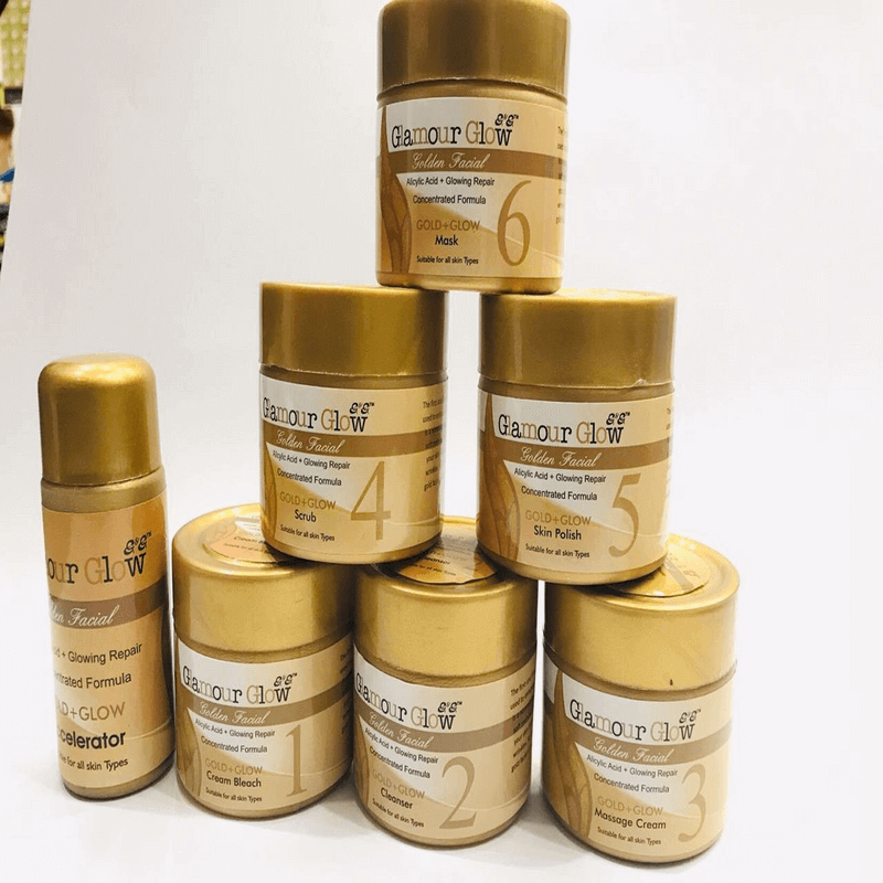 professional-glamour-glow-gold-facial-kit-7-in-1