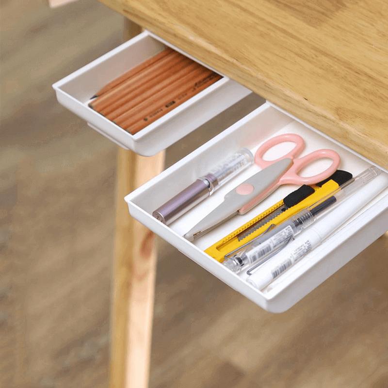 under-the-desk-drawer-storage-box