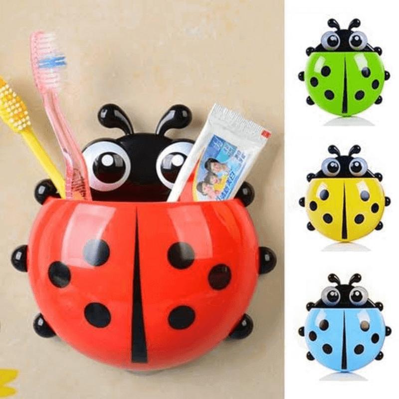 ladybug-toy-toothbrush-toothpaste-holder