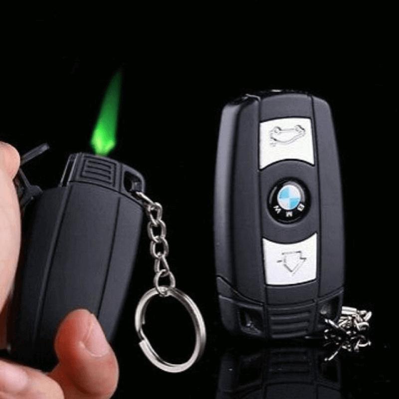 bmw-car-key-style-butane-gas-windproof-smoking-lighter