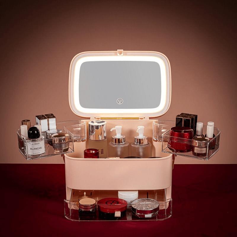 drawer-type-led-mirror-cosmetic-storage-box