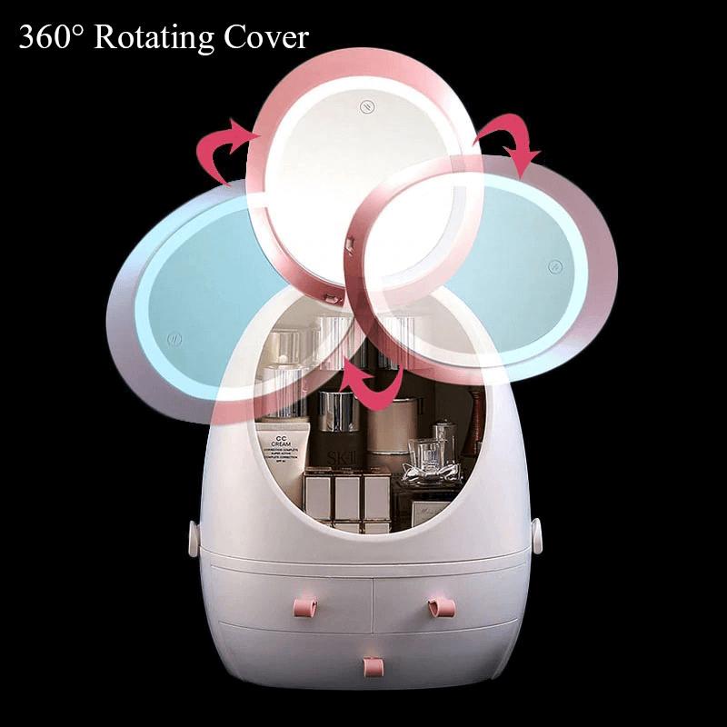 360-rotating-led-mirror-makeup-organizer