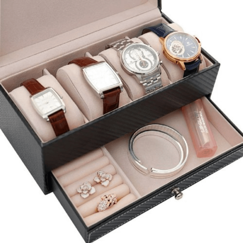 rectangle-leather-watch-and-jewelry-box-with-drawer