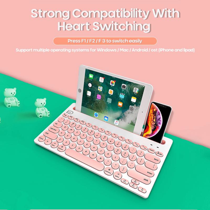 wireless-keyboard-with-tablet-holder-79-keys