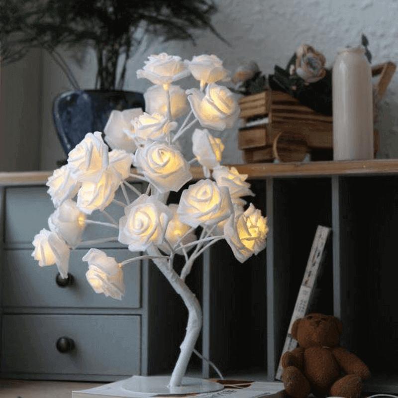 white-rose-lamp