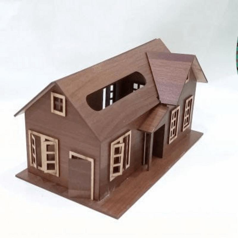 wooden-tissue-box-house-shape-unique-design