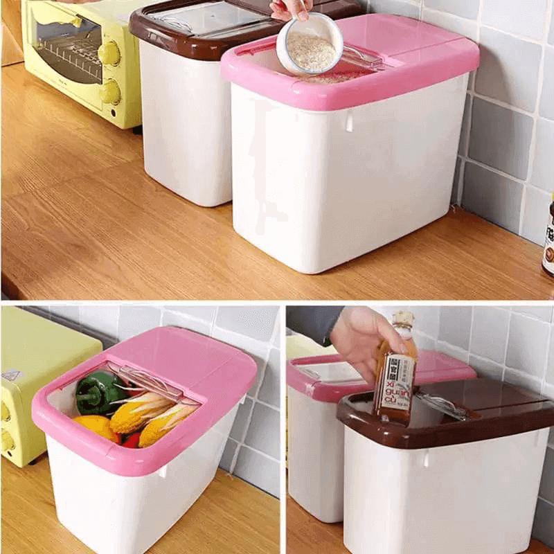 plastic-cereal-dispenser-storage-box