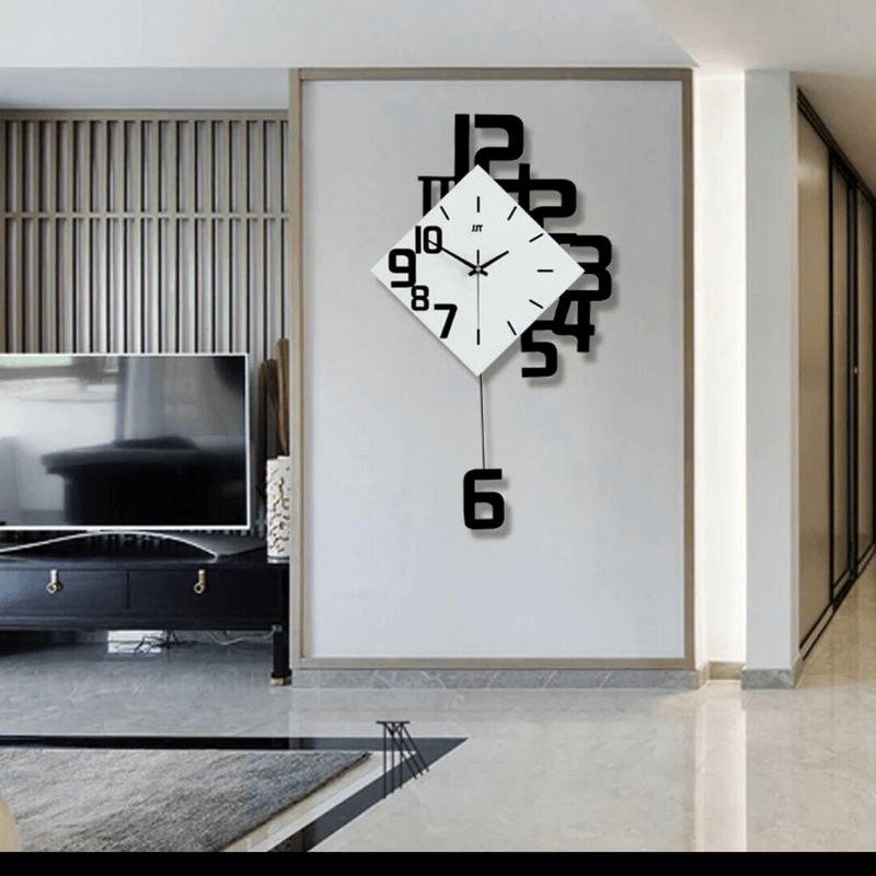 modern-nordic-style-silent-wall-clock