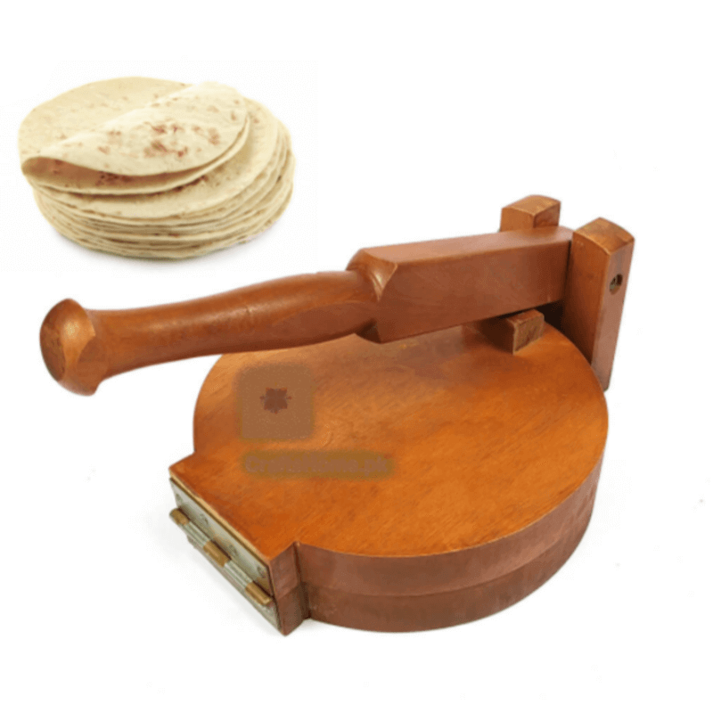 heavy-wooden-tortilla-press-roti-maker