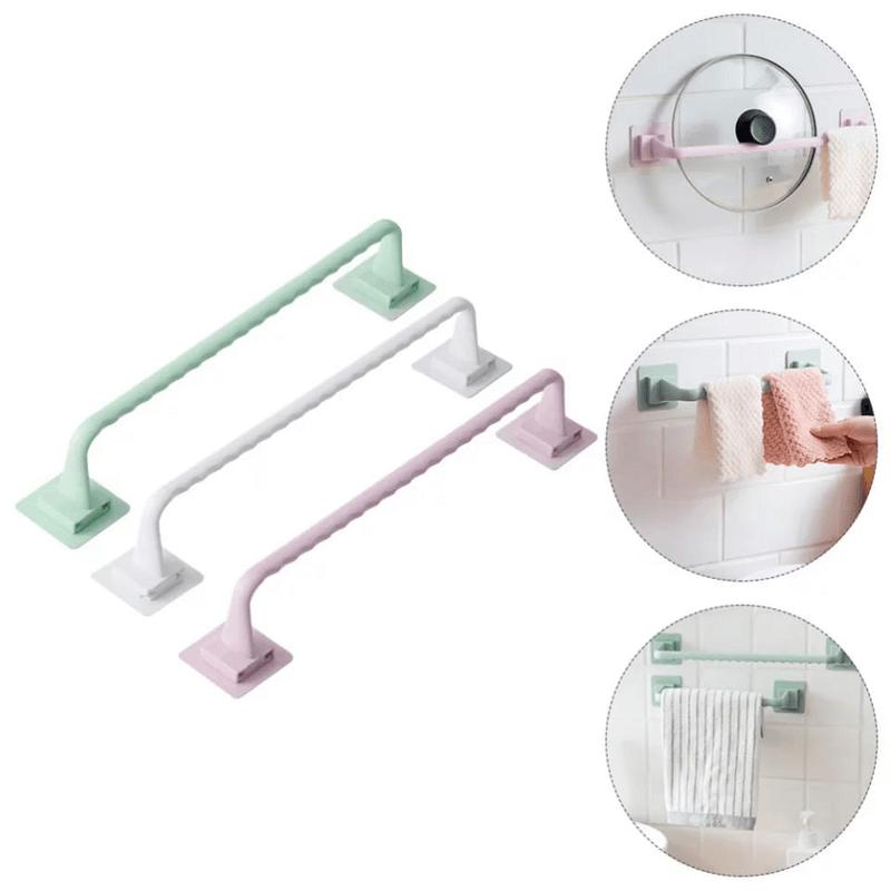 self-adhesive-wall-towel-holder