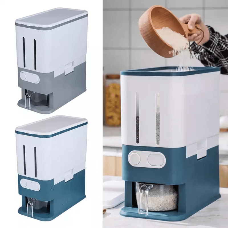 2-grid-rice-dispenser-with-measuring-cup