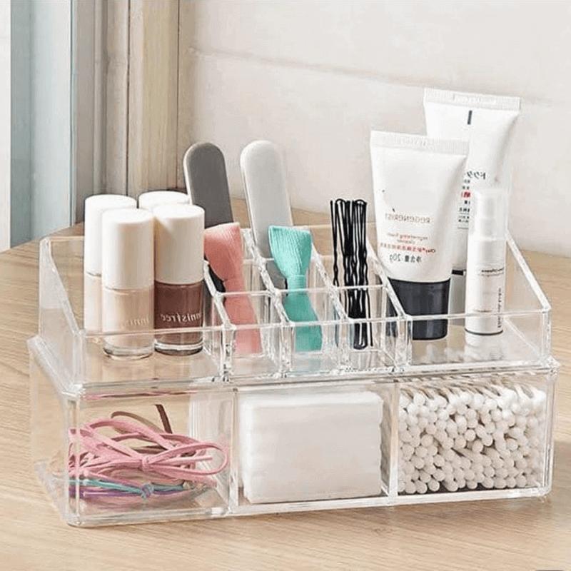 acrylic-rectangle-cosmetic-organizer
