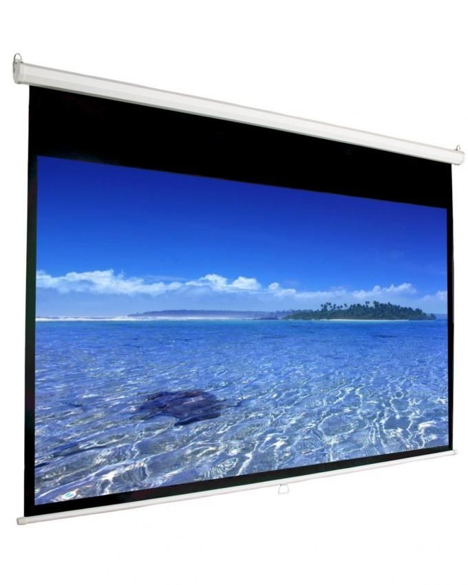 Projector-screen-manual-70-inches