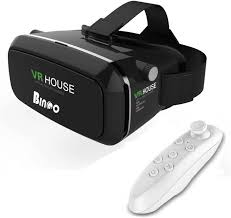 V300 3D Glasses HD VR House + Remote Video Glasses