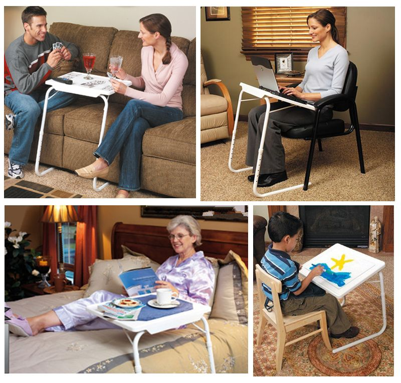 Multi-functional Adjustable Table mate IV with Cup holder