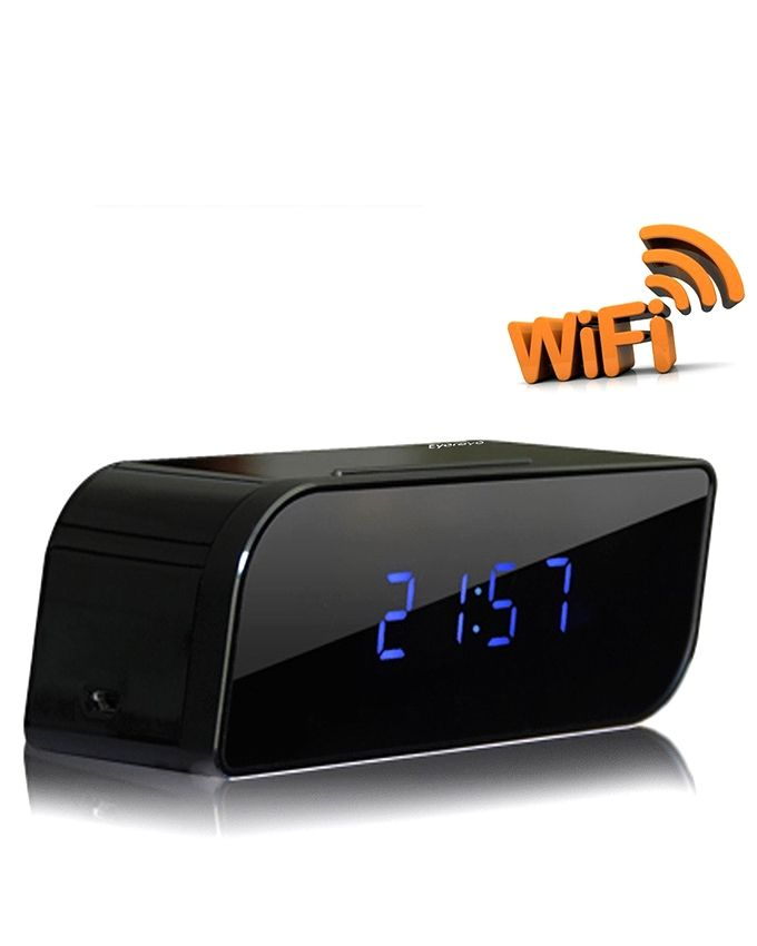 Wifi-IP-HD-Clock-Spy-Camera