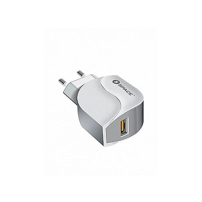 Space Adaptive Fast Charger + MicroUSB Cable