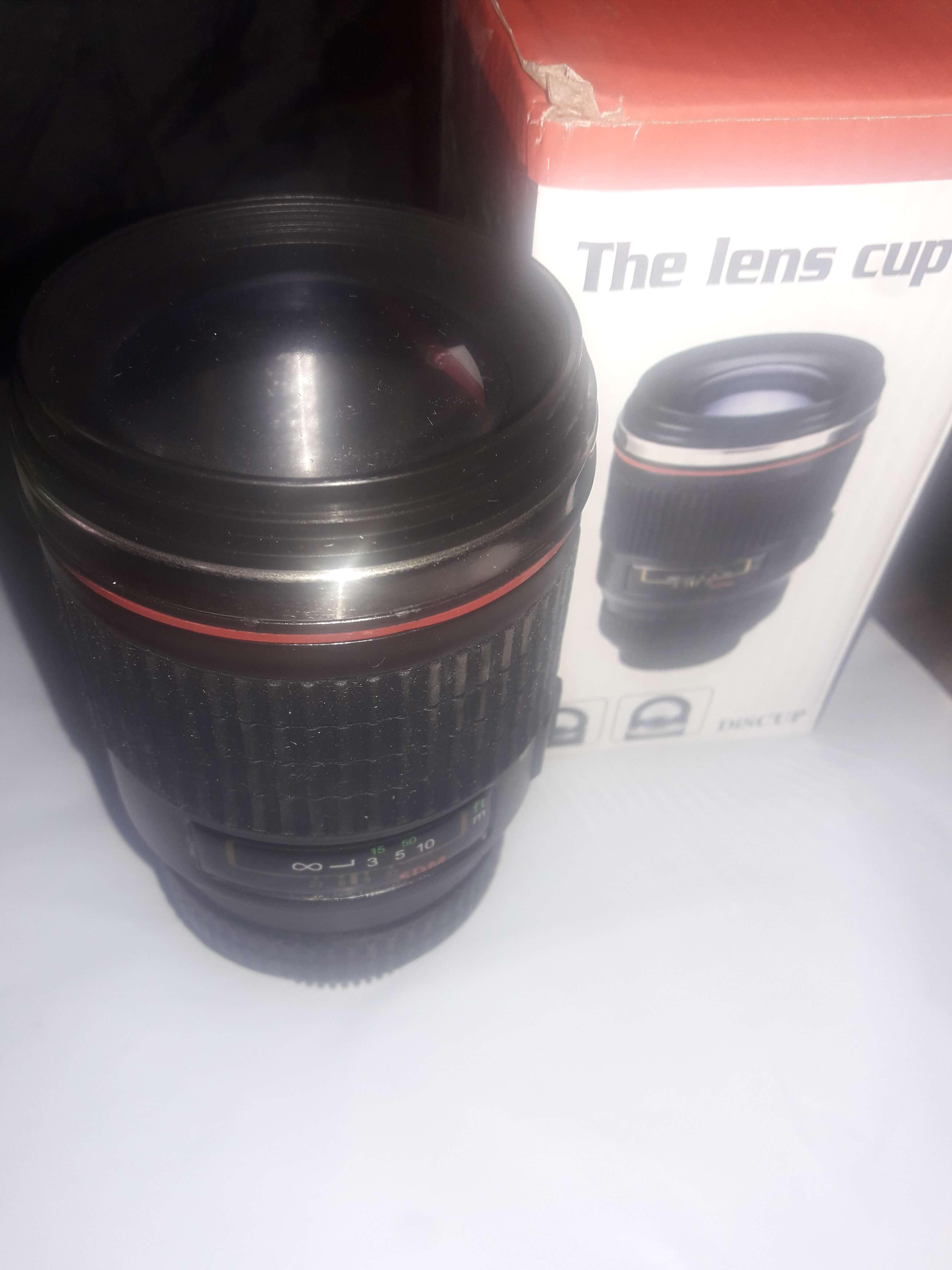 Vinmax Stainless Lens Thermos Camera Travel Coffee Tea Mug