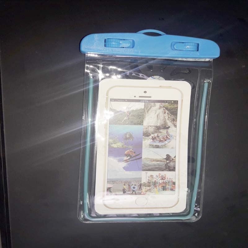 Water Proof Mobile Bag - Blue