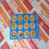 Nano Emoji Magic Sticker Gel Pad Car Phone Holder-12pcs