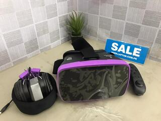 VR Headset with Remote and Bluetooth- Tzumi