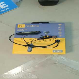Realme K08 Wireless Headphone - Black
