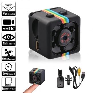 SQ11 HD Night Vision Mini Hidden Spy Secrete Small Camera