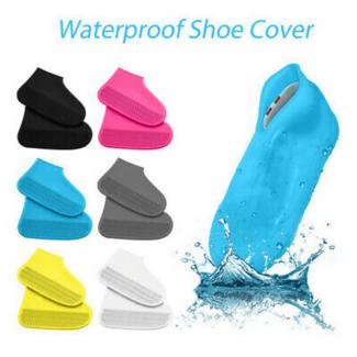 Non-Slip Silicone Rain Boot Shoe Cover Large Size 41 to 45