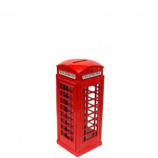 British Retro Style Telephone Booth