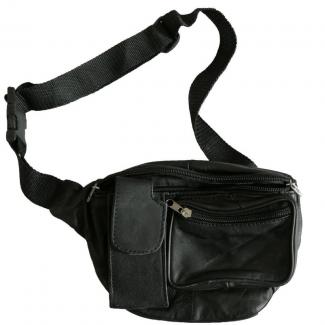 Waist Bag Men Zipper Pockets Travel Bag