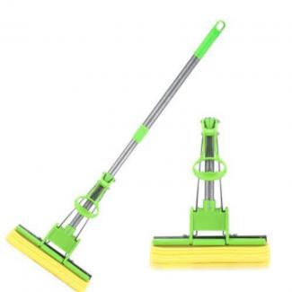 Adjustable Squeeze Water Floor Cleaning Magic PVA Sponge Mop