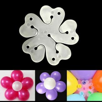 Flower Shape Balloon Clip